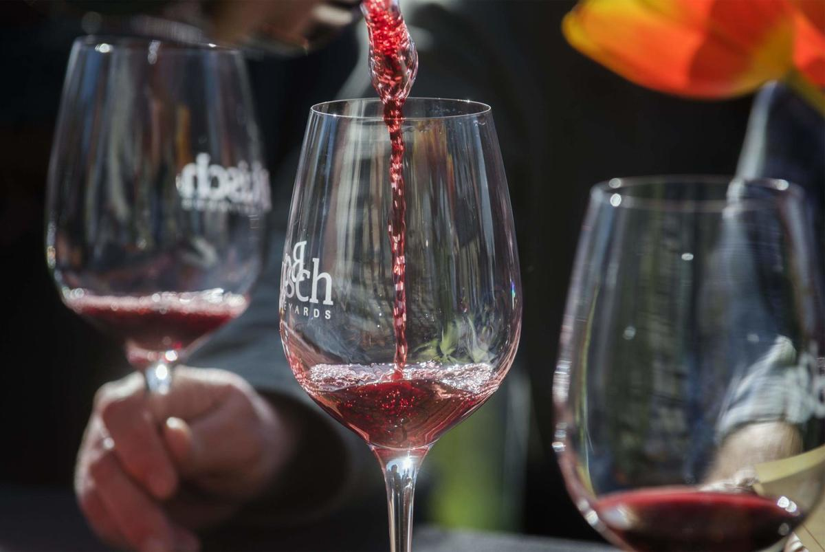 Allison Oaks Vineyard Membuat Wine Khusus